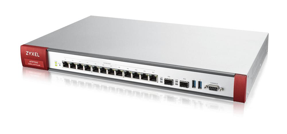 ZyXEL ZyWALL ATP700 - Sicherheitsgerät - mit 1 Jahr Gold Security Pack