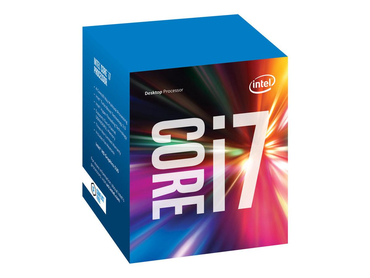 Intel Core i7 6700K - 4 GHz - 4 Kerne - 8 Threads