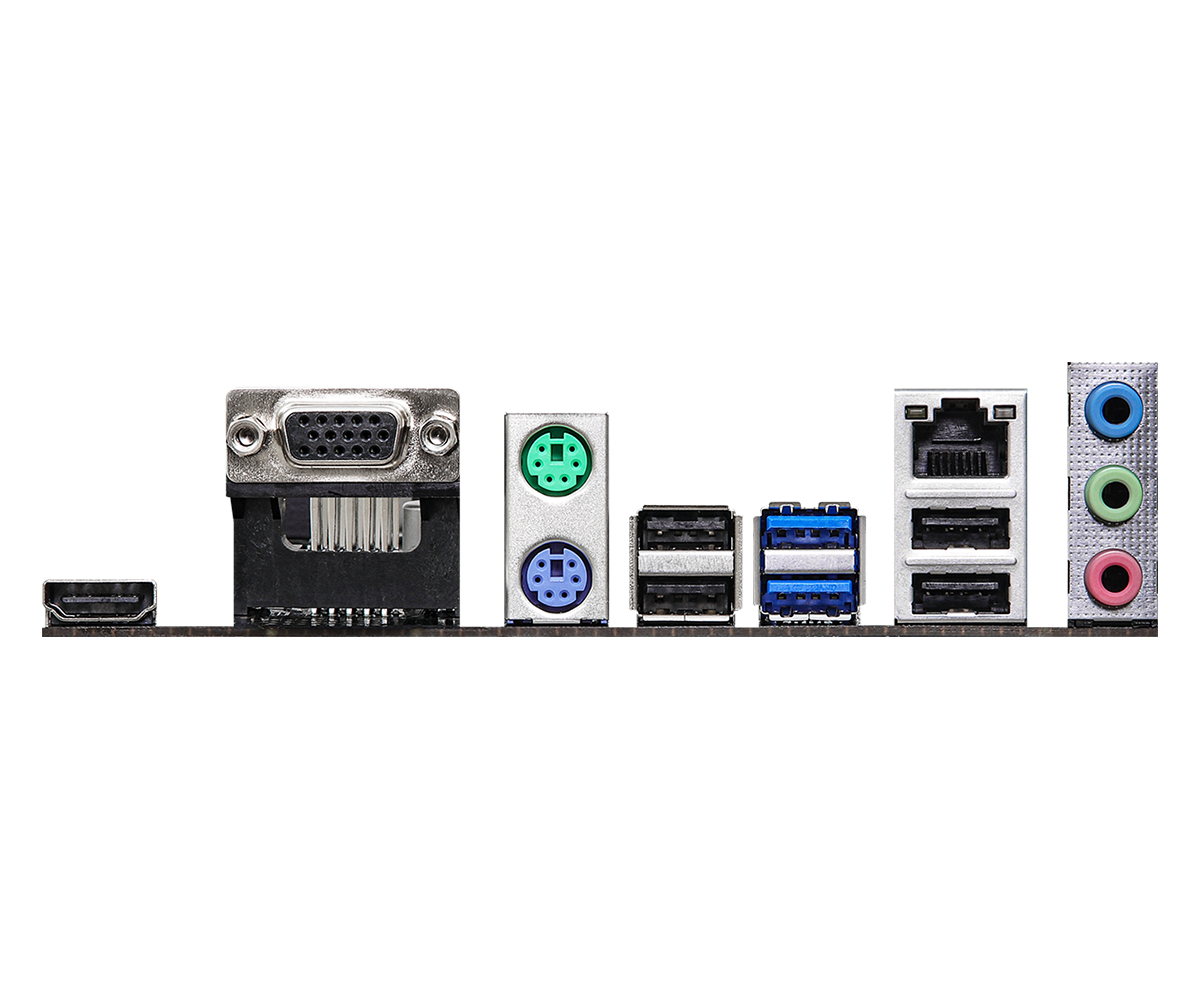 ASRock H510M-HVS - Motherboard - micro ATX - LGA1200-Sockel - H510 - USB 3.2 Gen 1 - Gigabit LAN - Onboard-Grafik (CPU erforderlich)