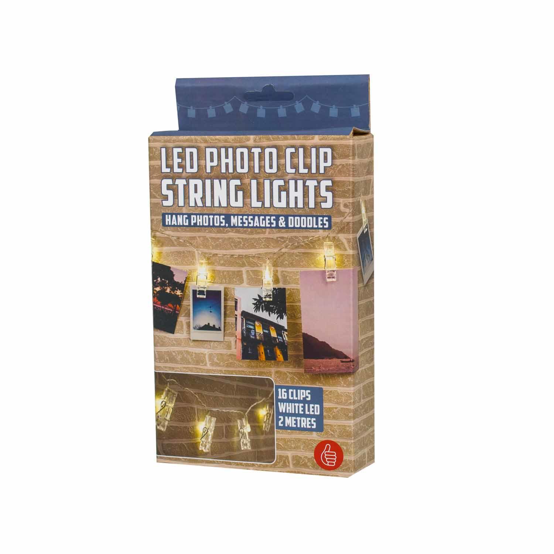 Thumbs Up 1001762 - 16 Lampen - LED - Indoor - Transparent - Akku - AA