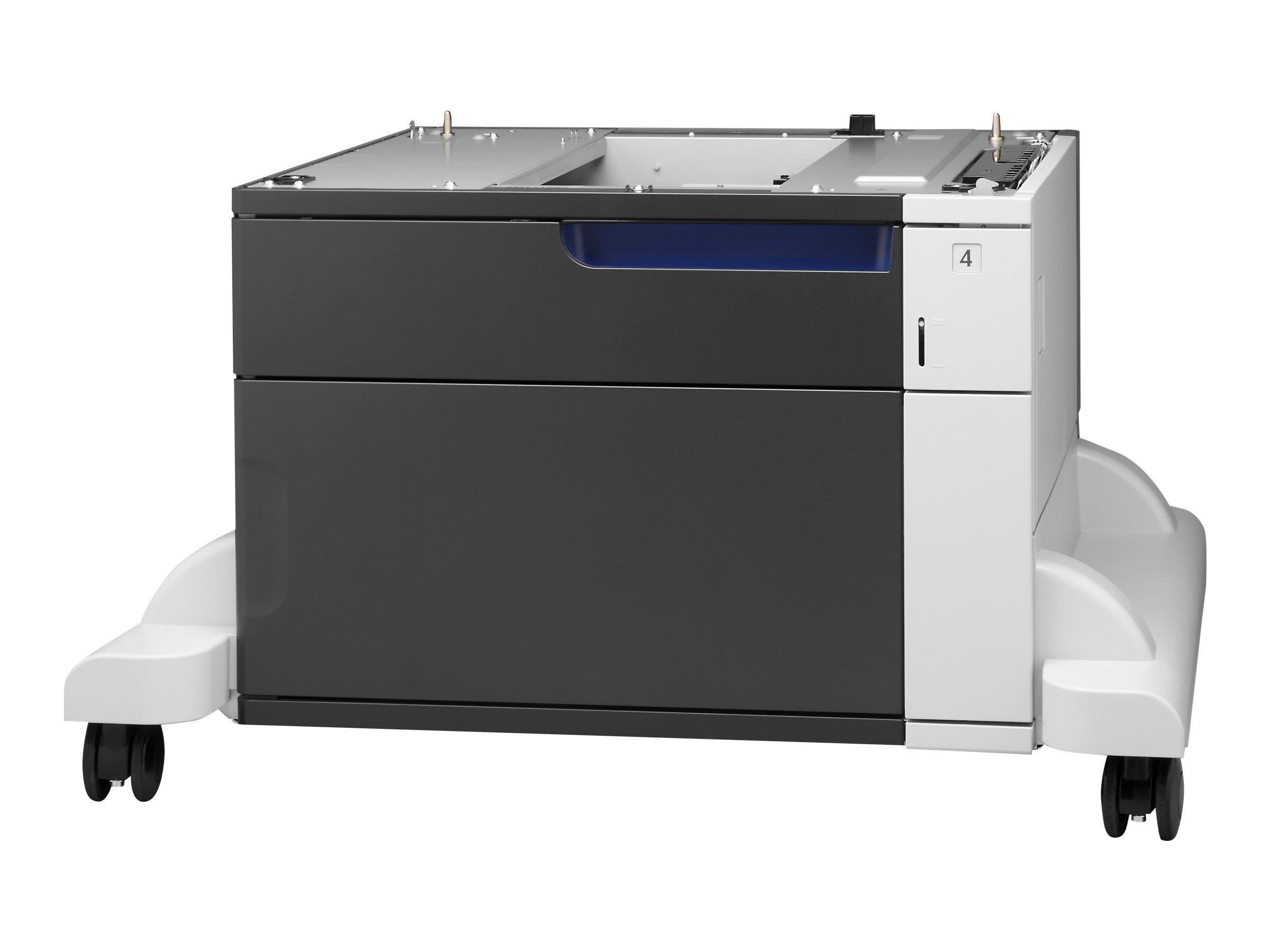 HP LaserJet 1x500-sheet Papiereinzug und Ständer