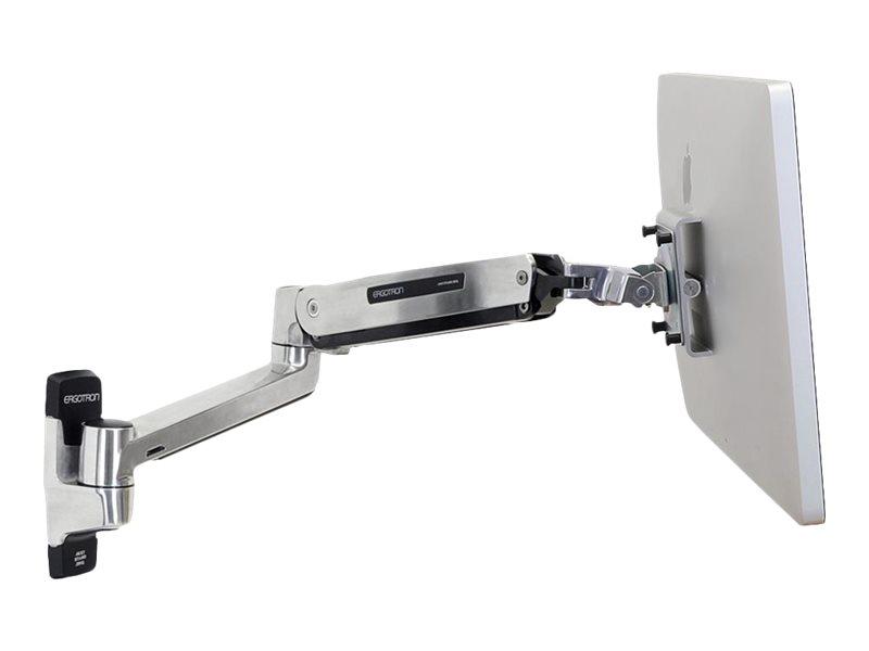 Ergotron LX HD Sit-Stand Wall Arm - Befestigungskit (Erweiterungsadapter, VESA-Adapter, Steh-Sitz-Arm, Wandhalterung)