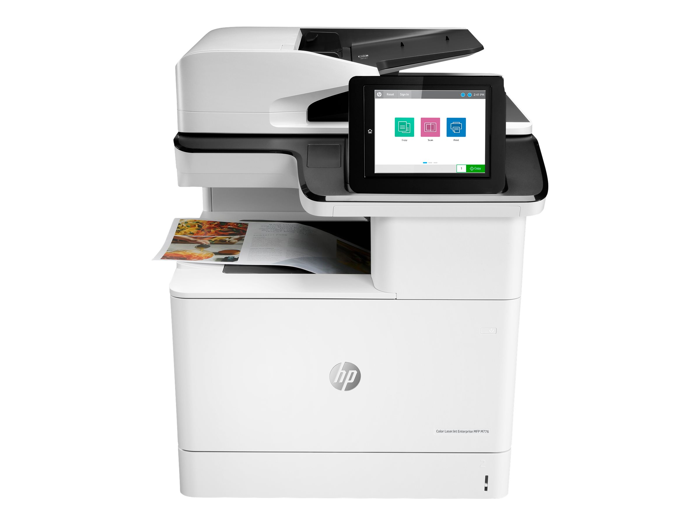 HP LaserJet Enterprise MFP M776dn - Multifunktionsdrucker - Farbe - Laser - 297 x 864 mm (Original)