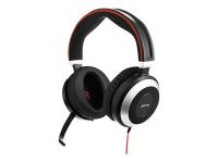 Evolve 80 Stereo MS USB-C Binaural Kopfband Schwarz