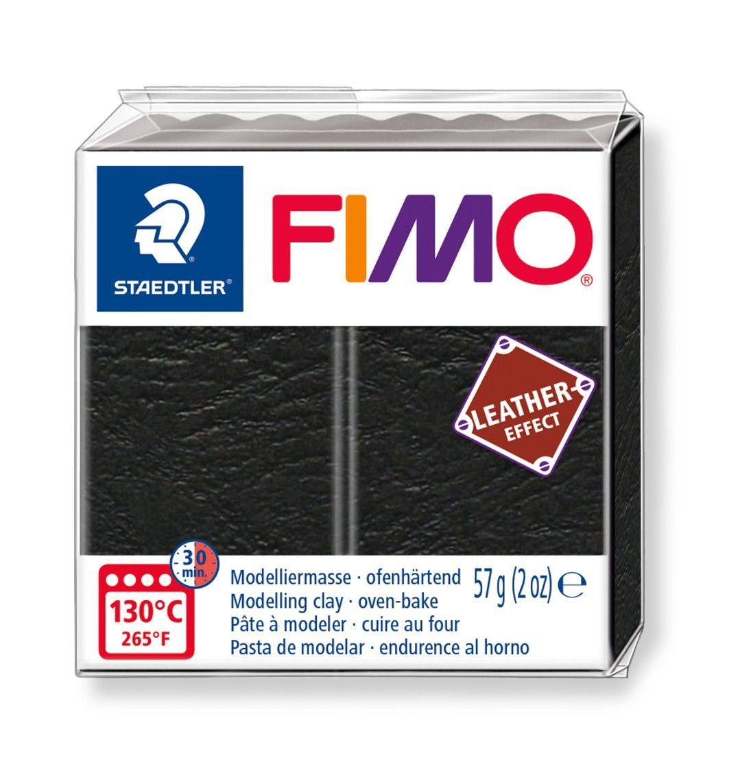 STAEDTLER FIMO 8010 - Knetmasse - Schwarz - Erwachsene - 1 Stück(e) - 1 Farben - 130 °C