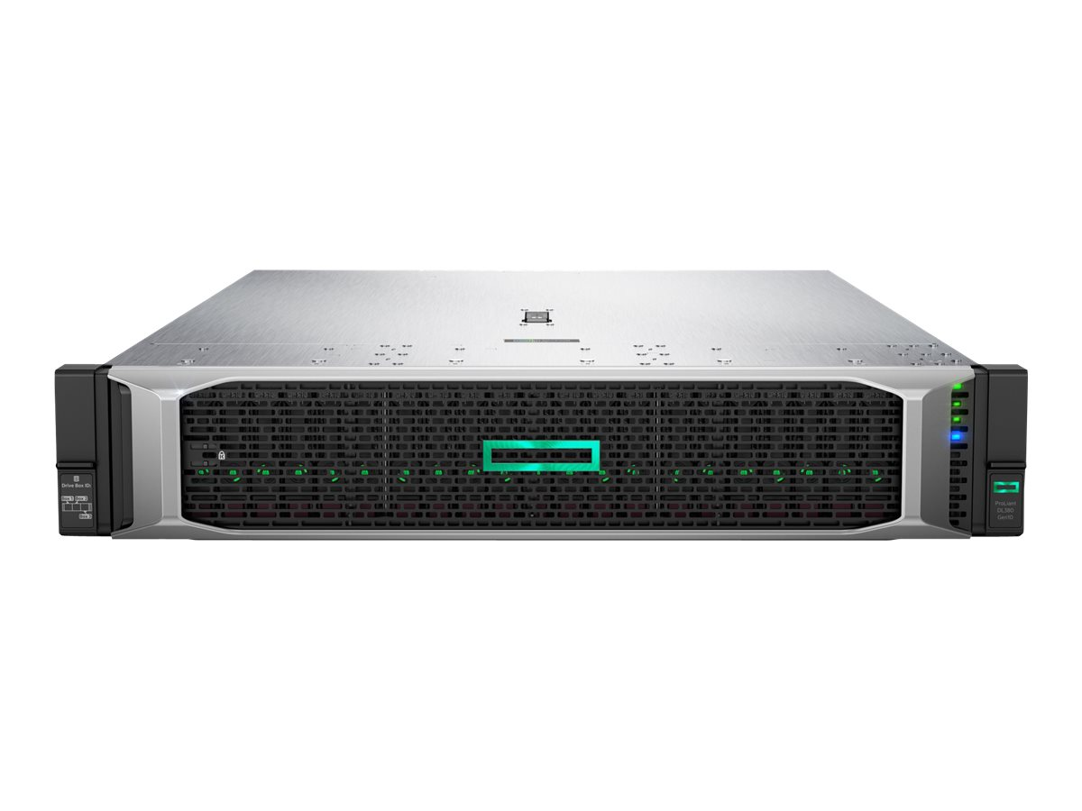"Vorschau: HP Enterprise ProLiant DL380 Gen10 Network Choice - Server - Rack-Montage - 2U - zweiweg - 1 x Xeon Gold 6248R / 3 GHz - RAM 32 GB - SATA - Hot-Swap 6.4 cm (2.5"")"
