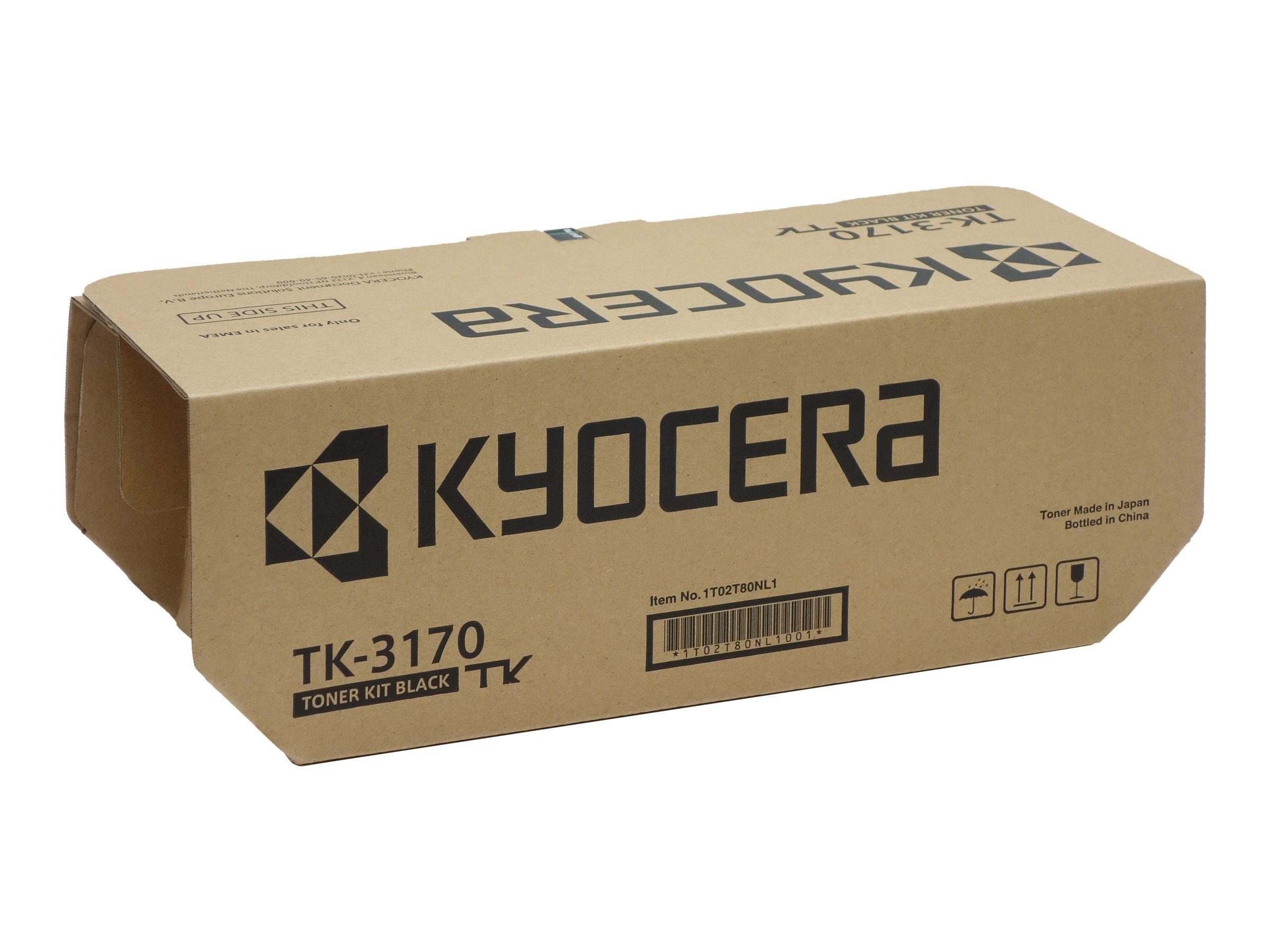 Kyocera TK 3170 - Schwarz - Original - Tonerpatrone