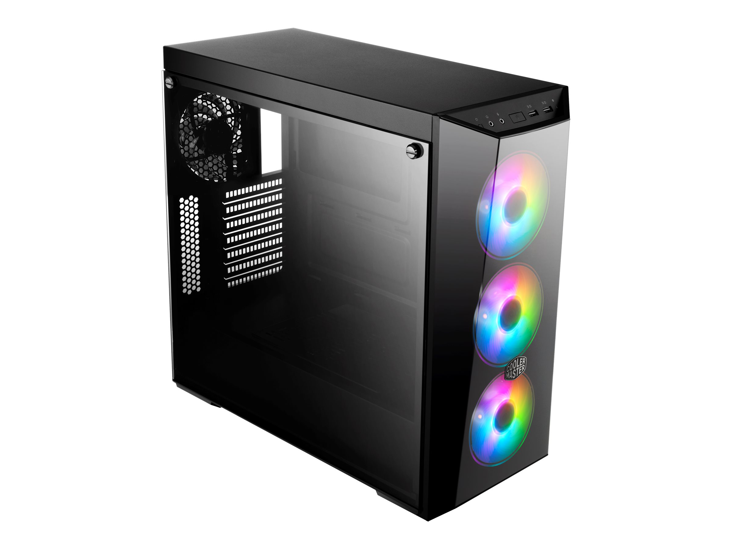 Vorschau: Cooler Master MasterBox Lite 5 ARGB - Tower - ATX - ohne Netzteil (ATX)