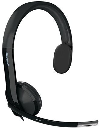 Microsoft LifeChat LX-4000 for Business Monophon Kopfband Schwarz Headset