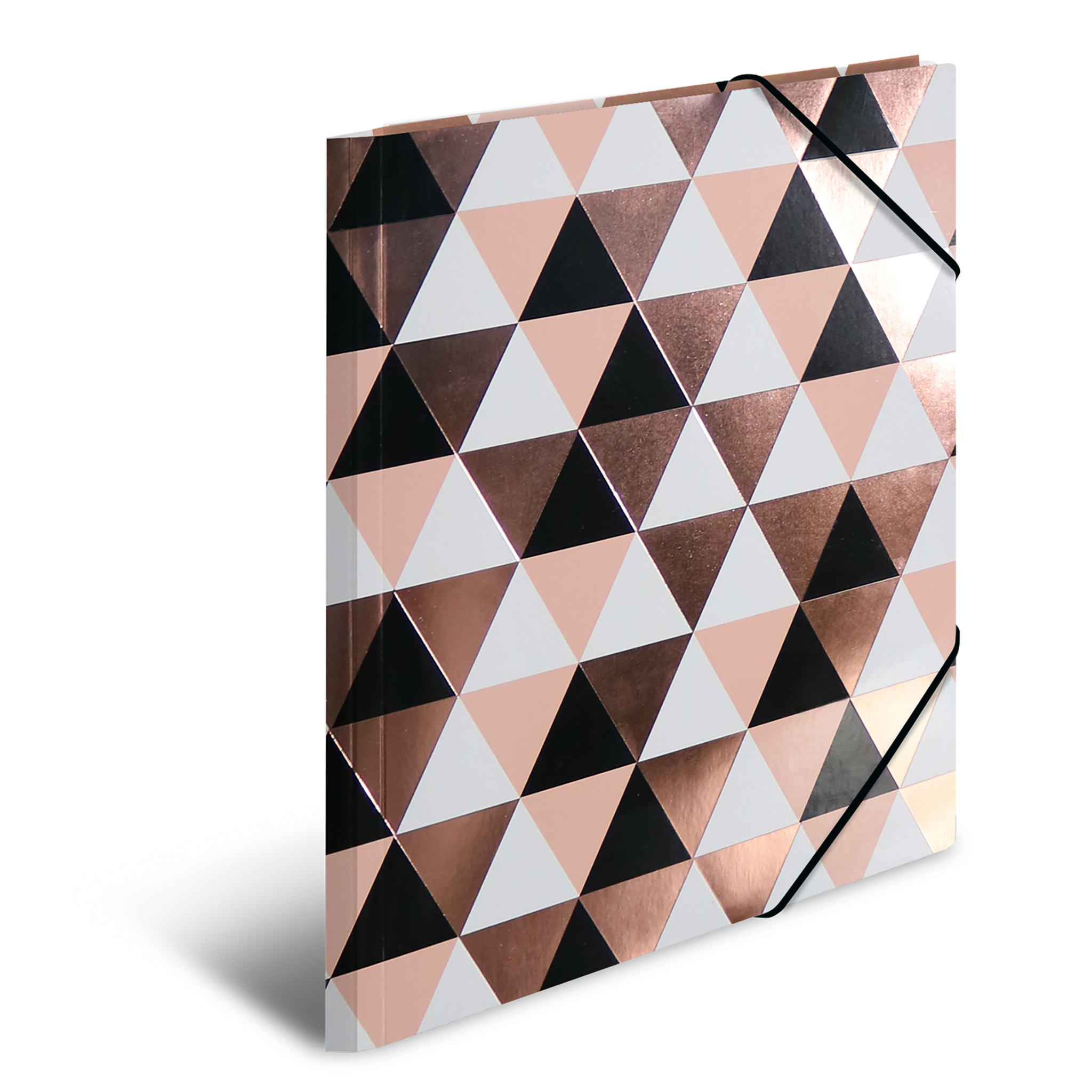 HERMA 19318 - Sammelmappe - A4 - Pappe - Rosegold - Abstract