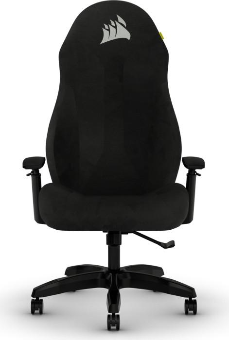 Corsair TC60 - Gaming-Sessel - Gepolsterter Sitz - Gepolsterte Rückenlehne - PC - Schwarz - Schwarz