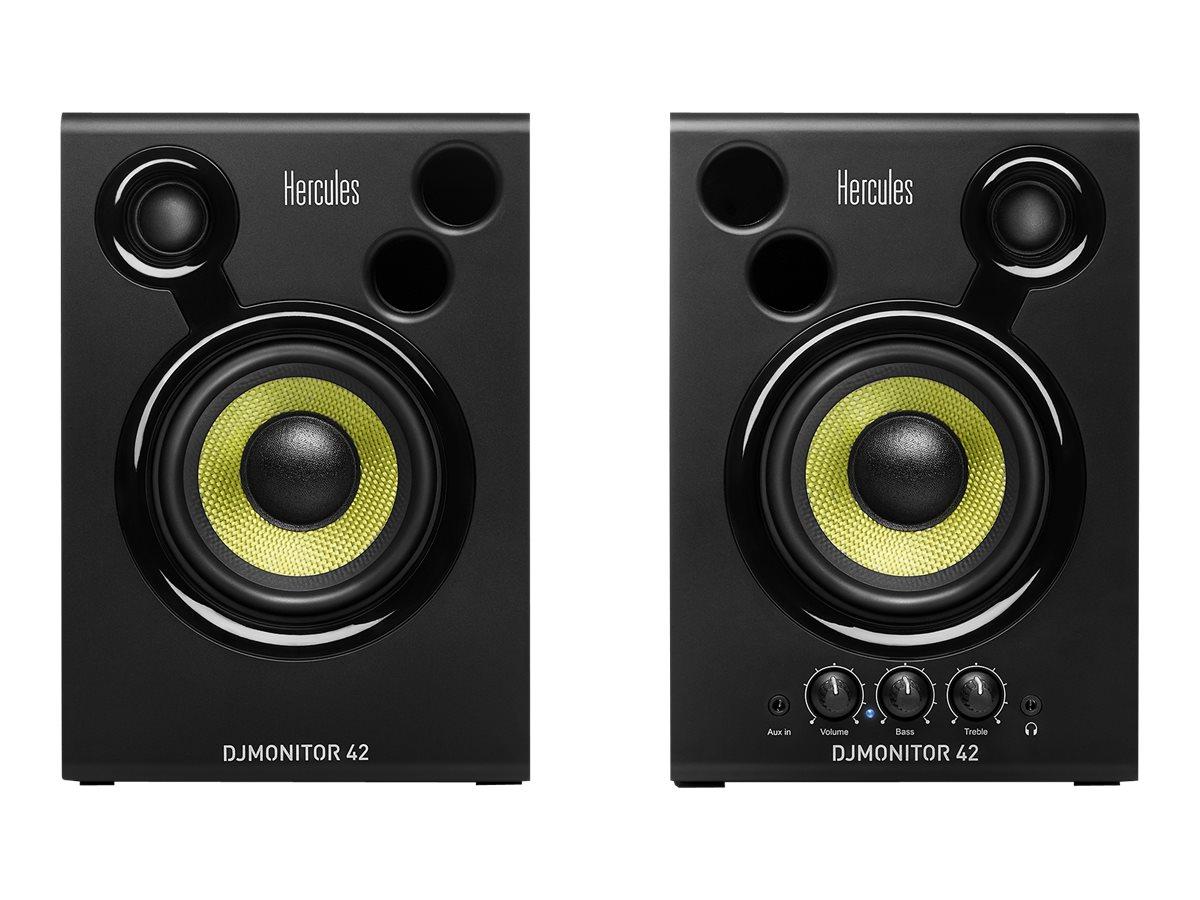 Hercules DJ Monitor 42 - Monitorlautsprecher - 40 Watt (Gesamt)