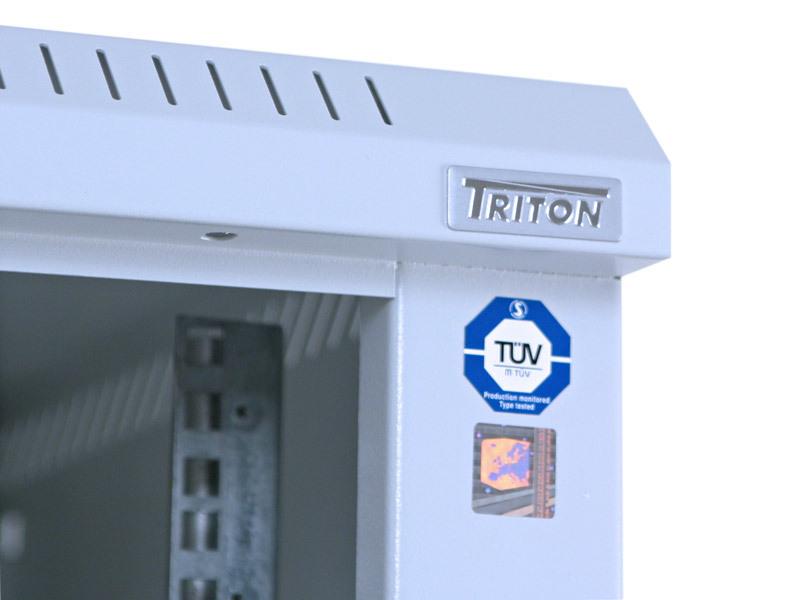 "equip Triton Delta S - Schrank - Hellgrau, RAL 7035 - 42HE - 48.3 cm (19"")"