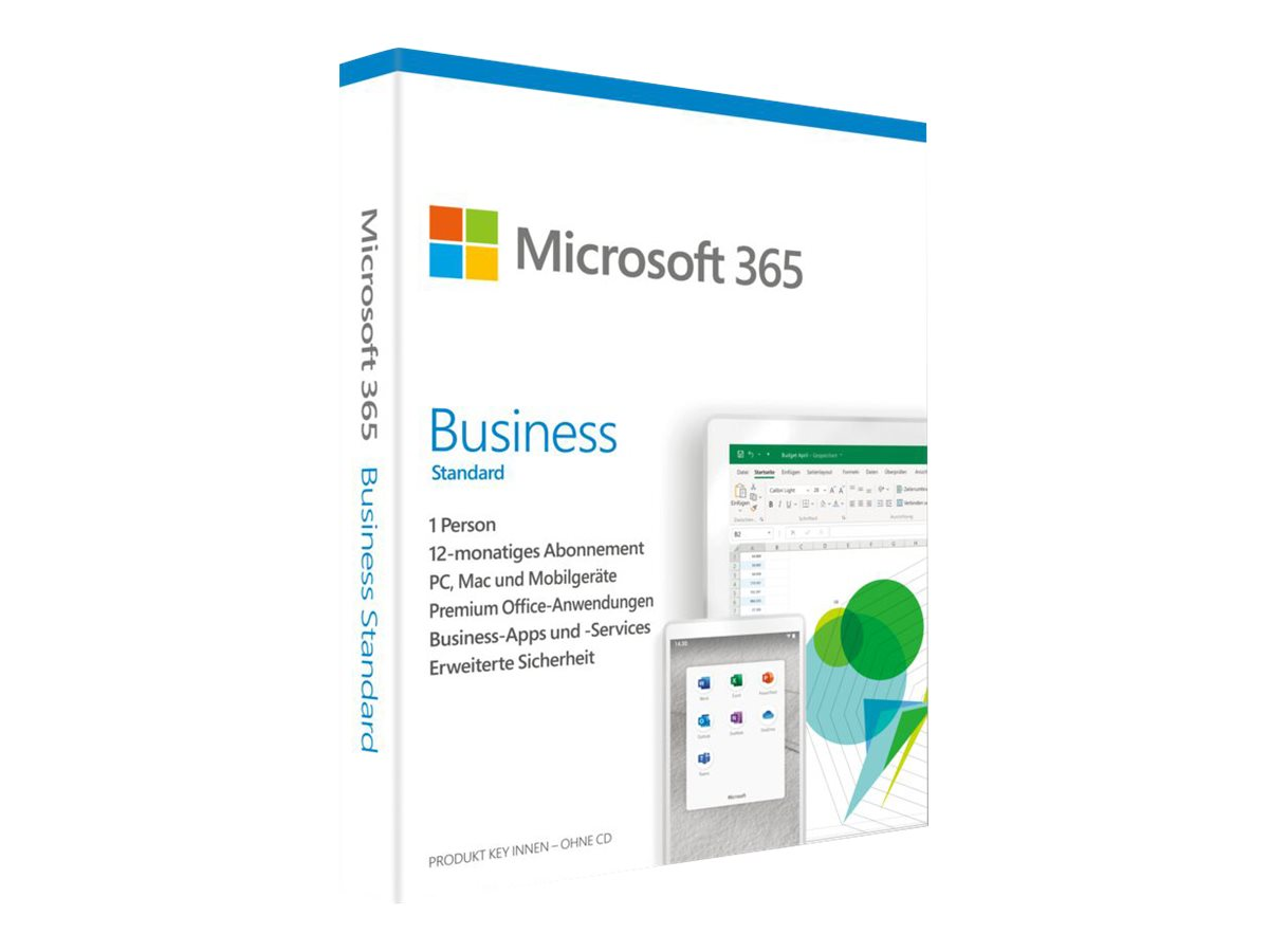 Microsoft 365 Business Standard - Box-Pack (1 Jahr)