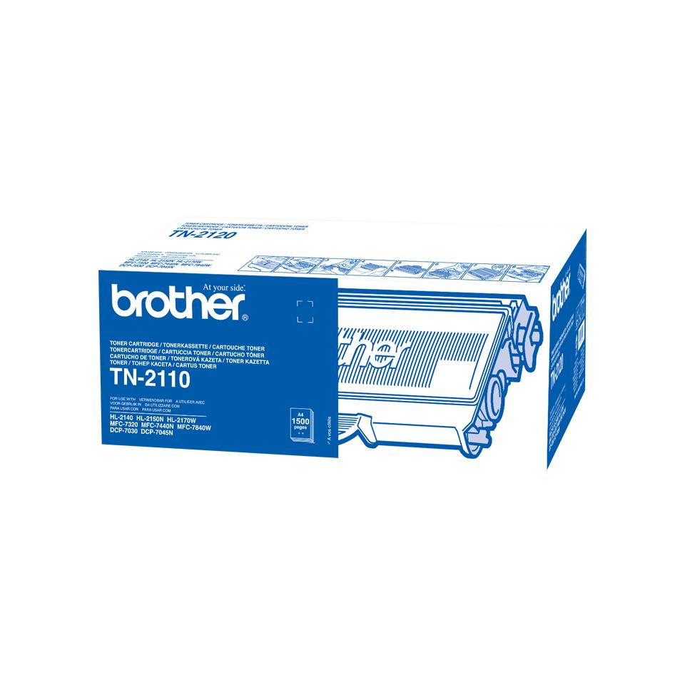 Brother TN TN2110 - Tonereinheit Original - Schwarz - 1.500 Seiten