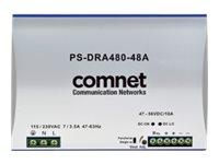 ComNet PS-DRA480-48A - Netzteil (DIN-Schienenmontage möglich)