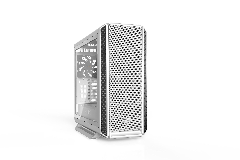 Be Quiet! Silent Base 802 Window White - Midi Tower - PC - Acrylnitril-Butadien-Styrol (ABS) - Stahl - Weiß - ATX - EATX - micro ATX - Mini-ITX - 18,5 cm
