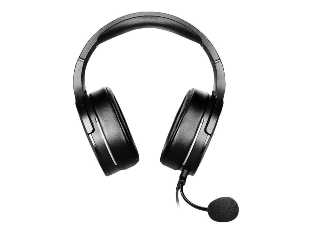 Vorschau: MSI IMMERSE GH20 - Headset - kabelgebunden - 3,5 mm Klinke