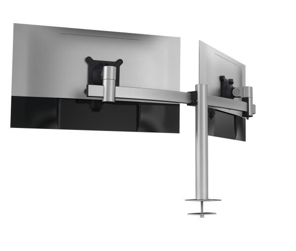 Durable 508623 - Klemme - 8 kg - 53,3 cm (21 Zoll) - 68,6 cm (27 Zoll) - 100 x 100 mm - Silber