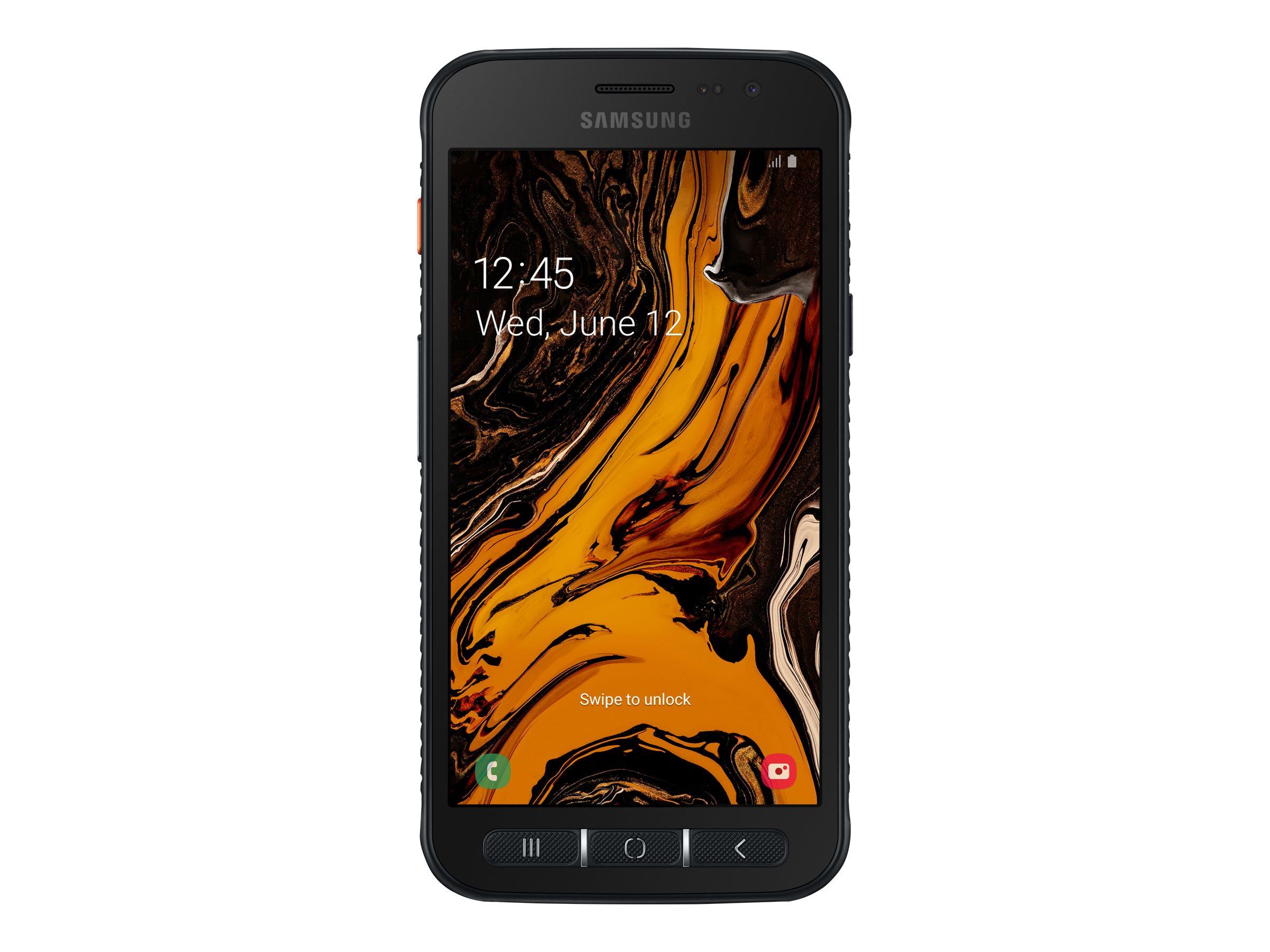 "Samsung Galaxy Xcover 4s - Enterprise Edition - Smartphone - Dual-SIM - 4G LTE - 32 GB - microSD slot - GSM - 5"" - 1280 x 720 Pixel - PLS TFT - RAM 3 GB - 16 MP (5 MP Vorderkamera)"