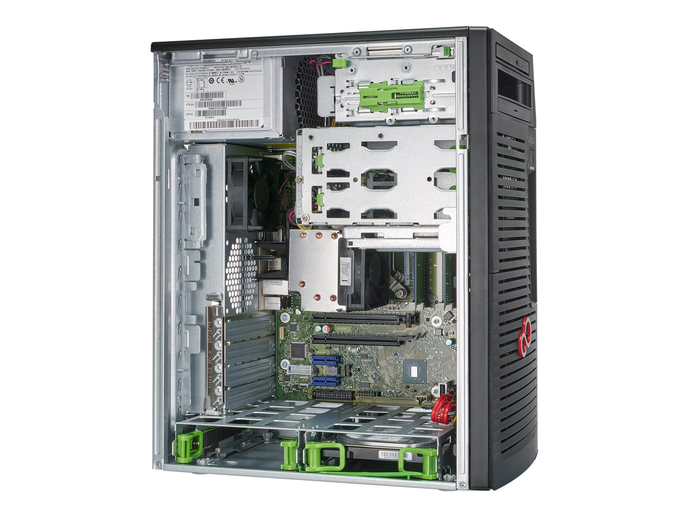 Vorschau: Fujitsu Celsius W580power - Micro Tower - 1 x Core i7 9700K / 3.6 GHz