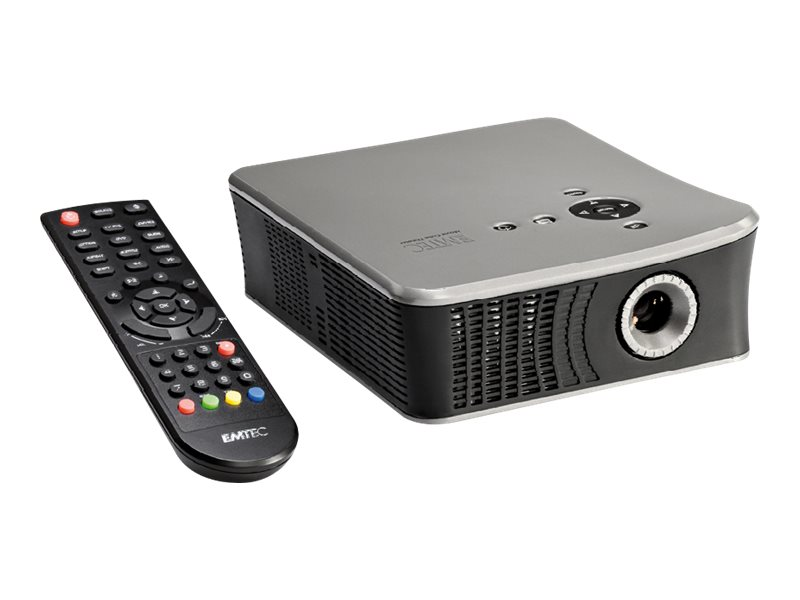 EMTEC Movie Cube Theater T800 - DVB-Digital-TV-Tuner/ HDD-Recorder (HDD erforderlich)/