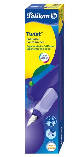 Pelikan 811354 - Twist - Kartuschenfüllsystem - Füller inkl. Tintenpatrone