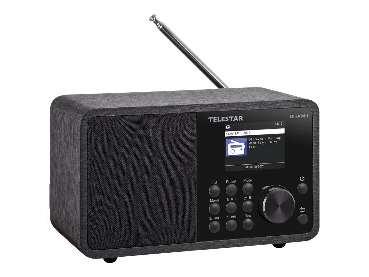Telestar DIRA M 1 - Netzwerk-Audioplayer / DAB-Radiotuner - 10 Watt (Gesamt)