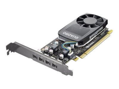 Lenovo NVIDIA Quadro P620 - Grafikkarten - Quadro P620 - 2 GB GDDR5 - 4 x Mini DisplayPort - für ThinkStation P320; P330; P330 (2nd Gen)