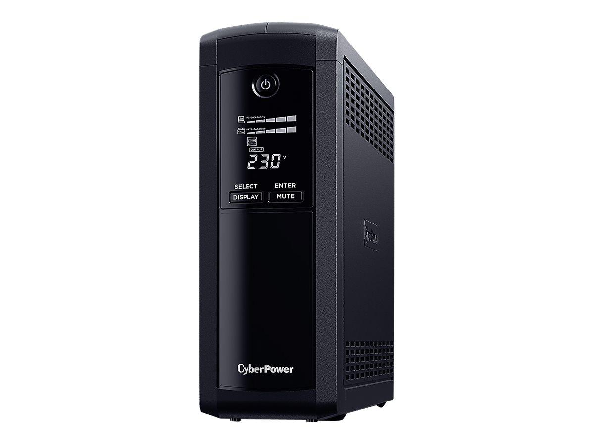 Vorschau: CyberPower Systems CyberPower Value Pro VP1200ELCD - USV - Wechselstrom 230 V