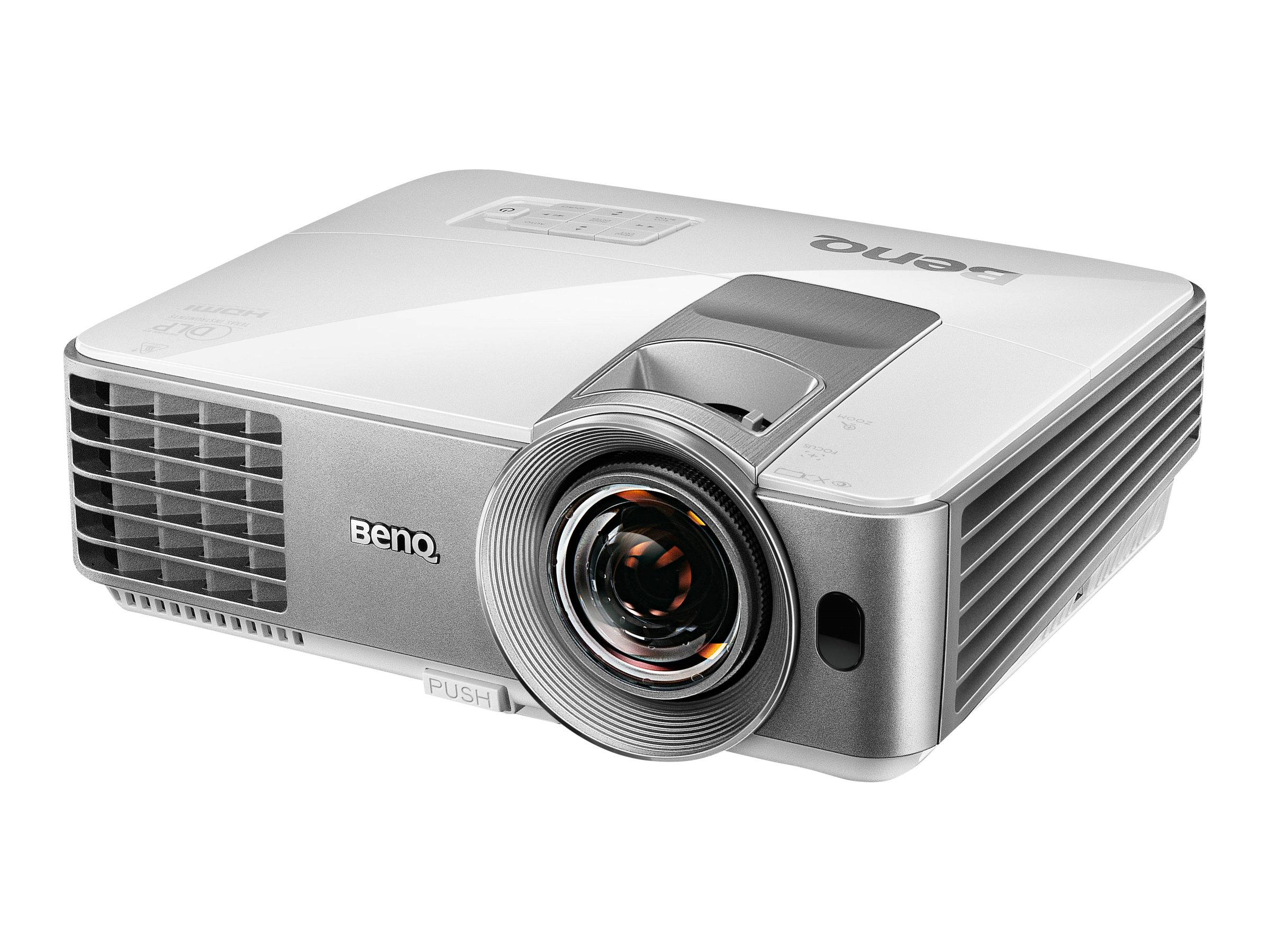 BenQ MW632ST - DLP-Projektor - tragbar - 3D - 3200 ANSI-Lumen - WXGA (1280 x 800)
