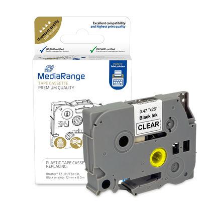 Vorschau: MEDIARANGE MRBTZ131 - Schwarz - Transparent - Tintenstrahl - Dauerhaft - 1,2 cm - 1 Stück(e)