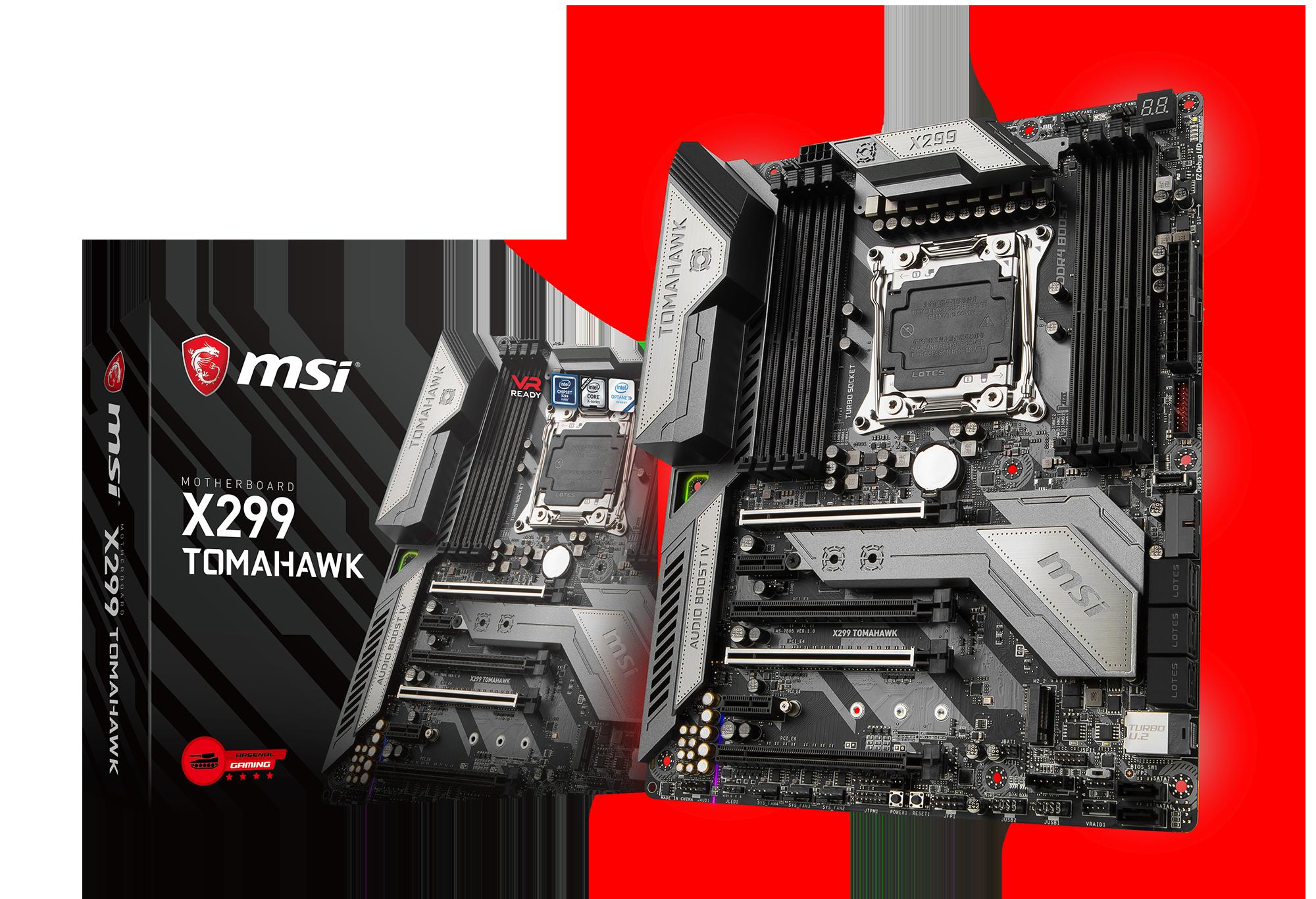 MSI X299 TOMAHAWK - Motherboard