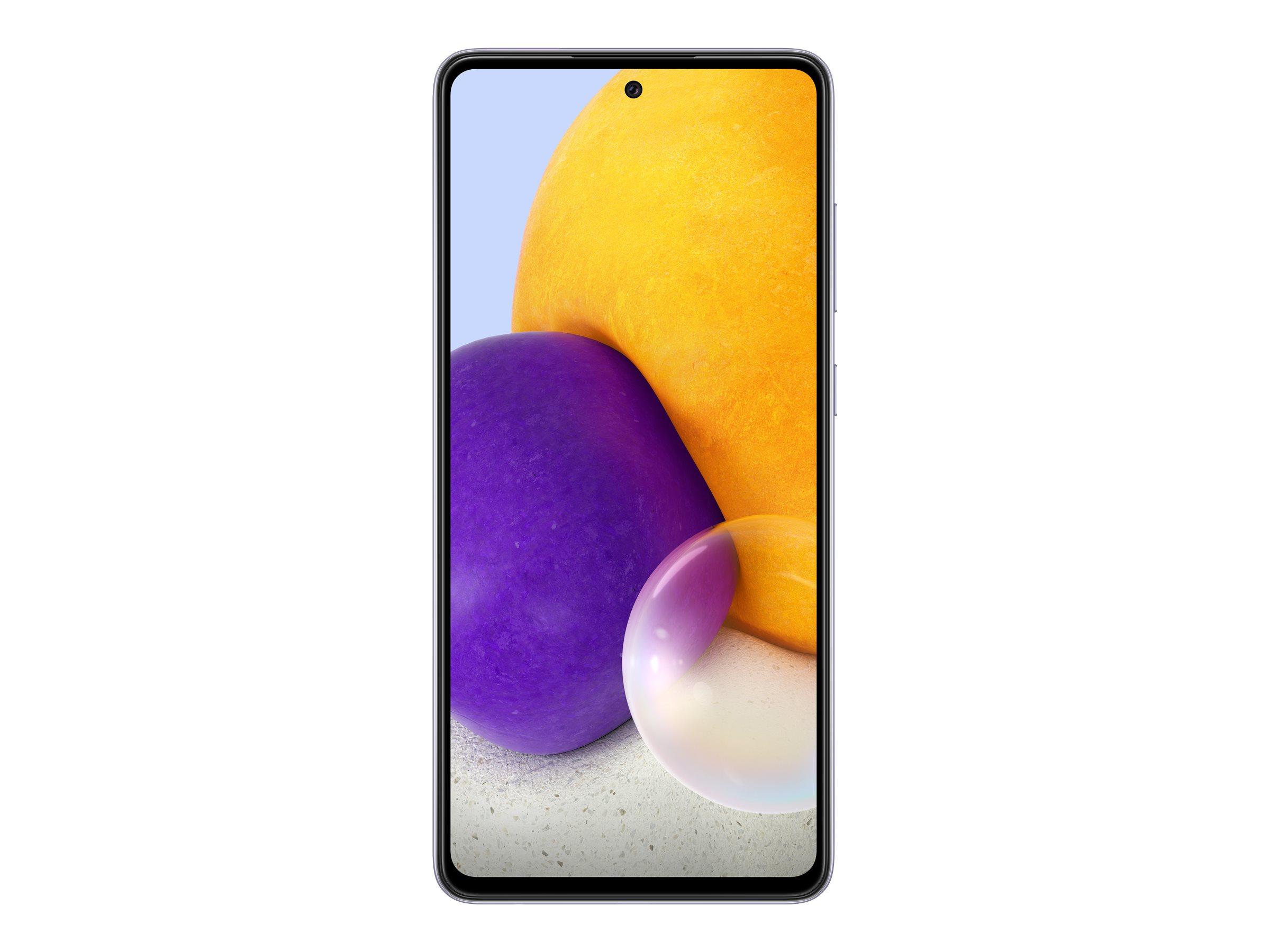"Vorschau: Samsung Galaxy A72 - Smartphone - Dual-SIM - 4G LTE - 128 GB - microSD slot - 6.7"" - 2400 x 1080 Pixel - Super AMOLED - RAM 6 GB (32 MP Vorderkamera)"