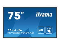 ProLite TE7568MIS-B1AG Interactive flat panel 75Zoll LED 4K Ultra HD Schwarz