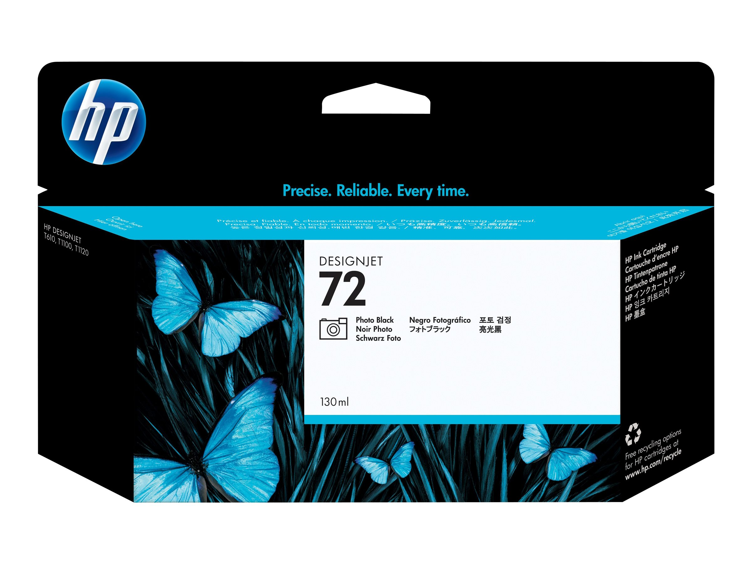 HP 72 - 130 ml - Photo schwarz - Original - DesignJet