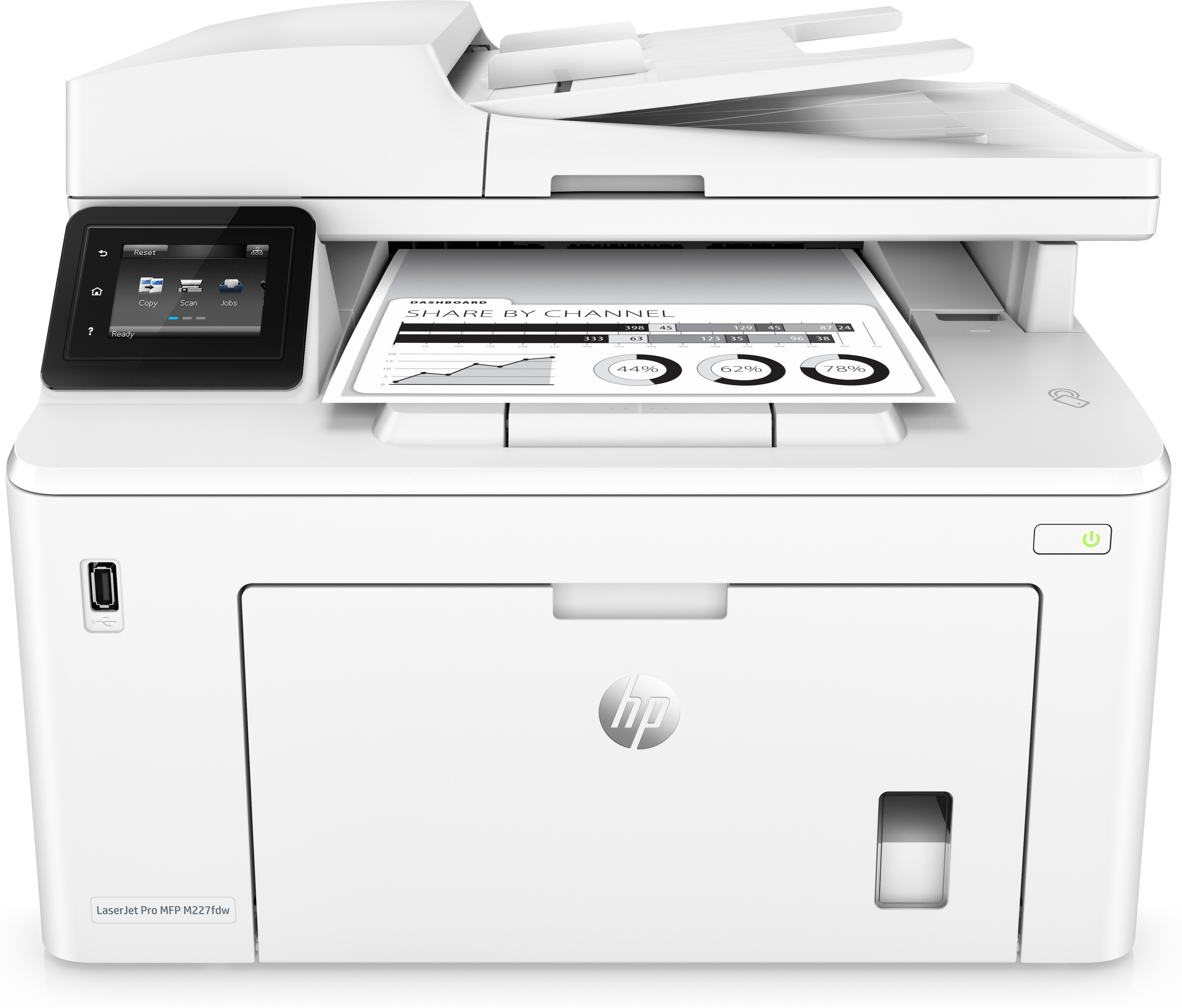 HP LaserJet Pro MFP M227fdw, S/W-Laser, MFP, A4