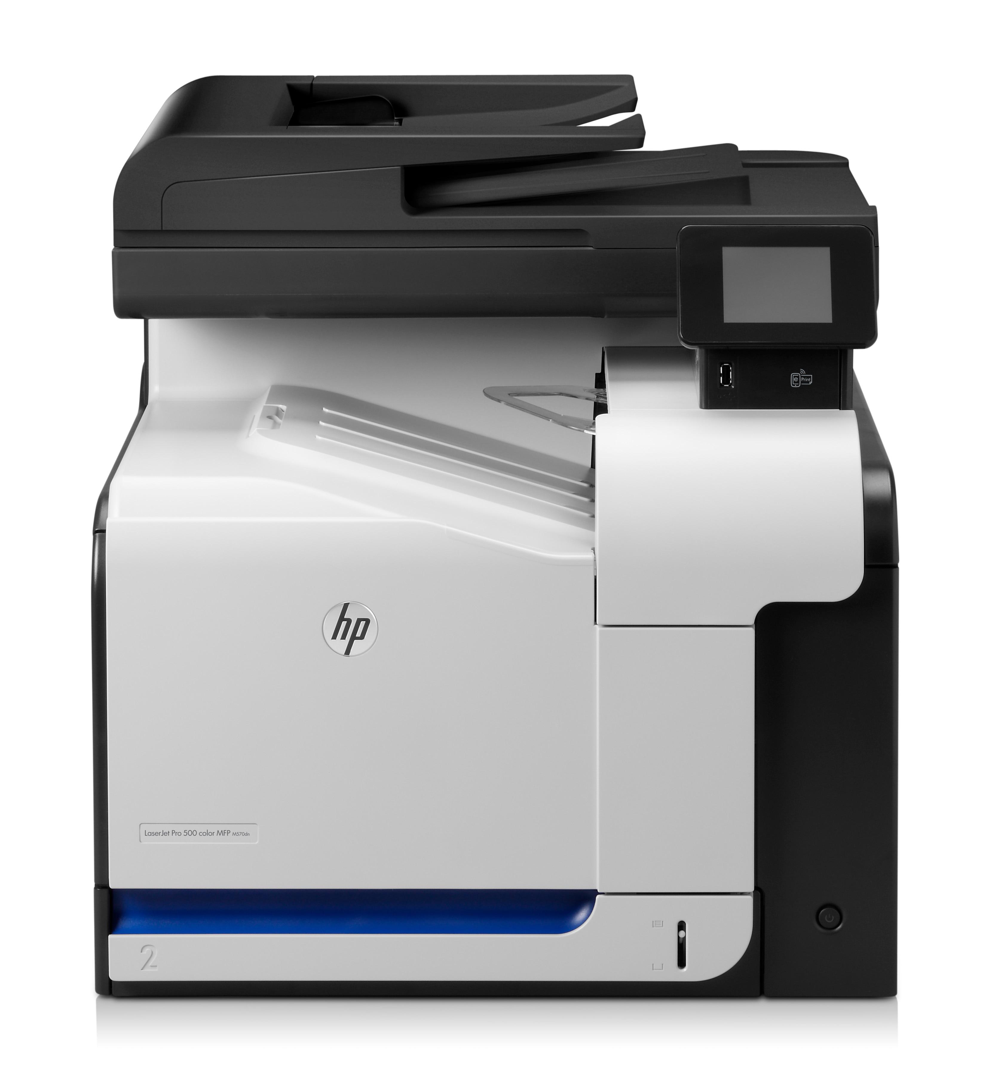 HP LaserJet Pro 500 MFP M570dn, Farblaser, MFP, A4
