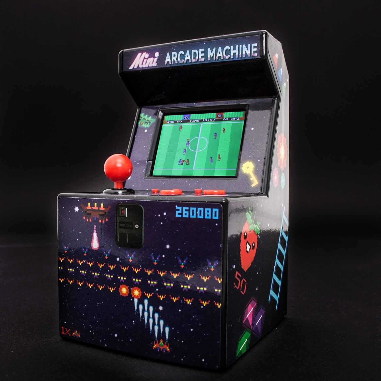 Thumbs Up ORB Mini Arcade Machine - Aufrecht stehender Arkadenschrank - Junge/Mädchen - 6 Jahr(e) - 6,35 cm (2.5 Zoll) - TFT - Mehrfarben