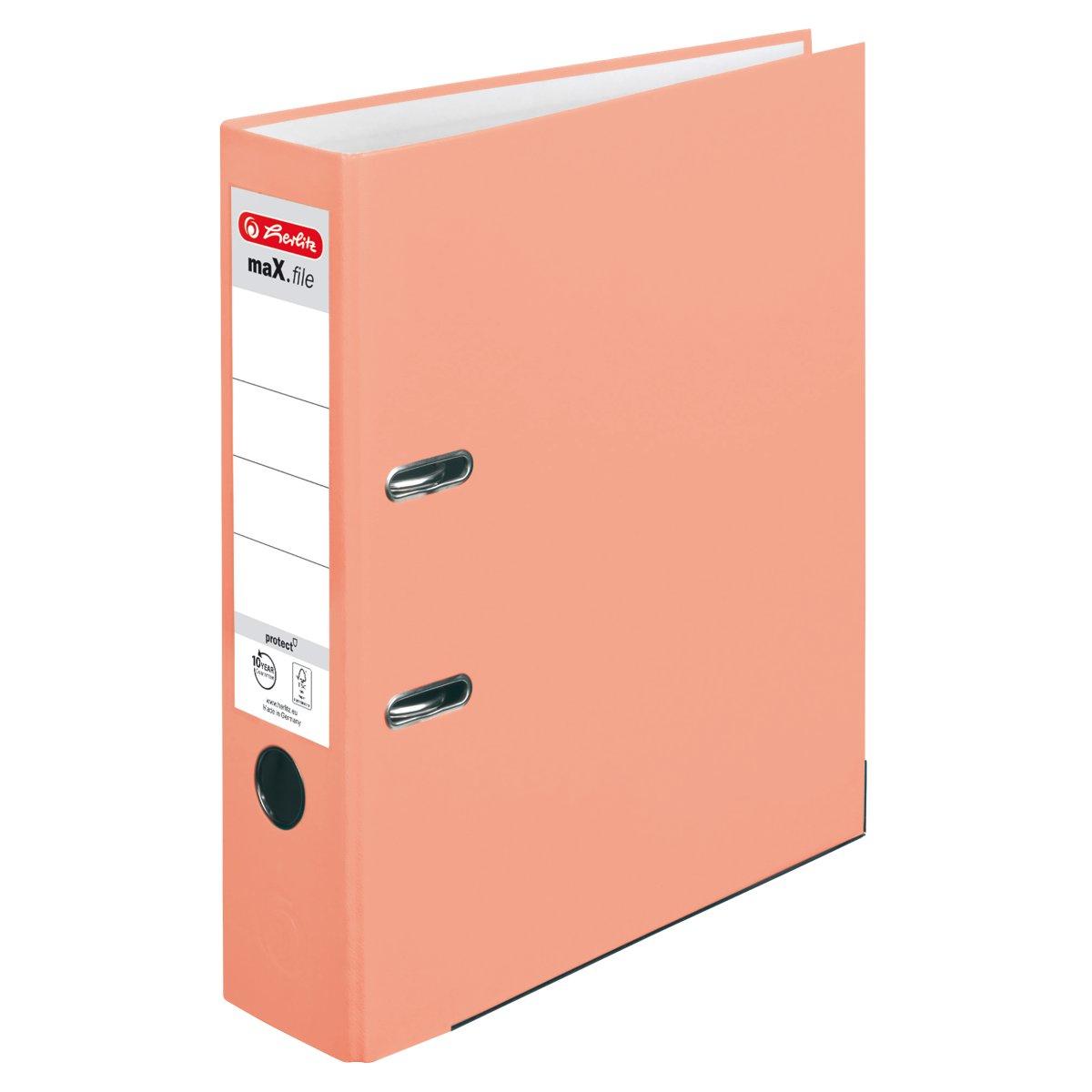 Herlitz maX.file - A4 - Halteöse - Lagerung - Polypropylen (PP) - Orange - Deutschland