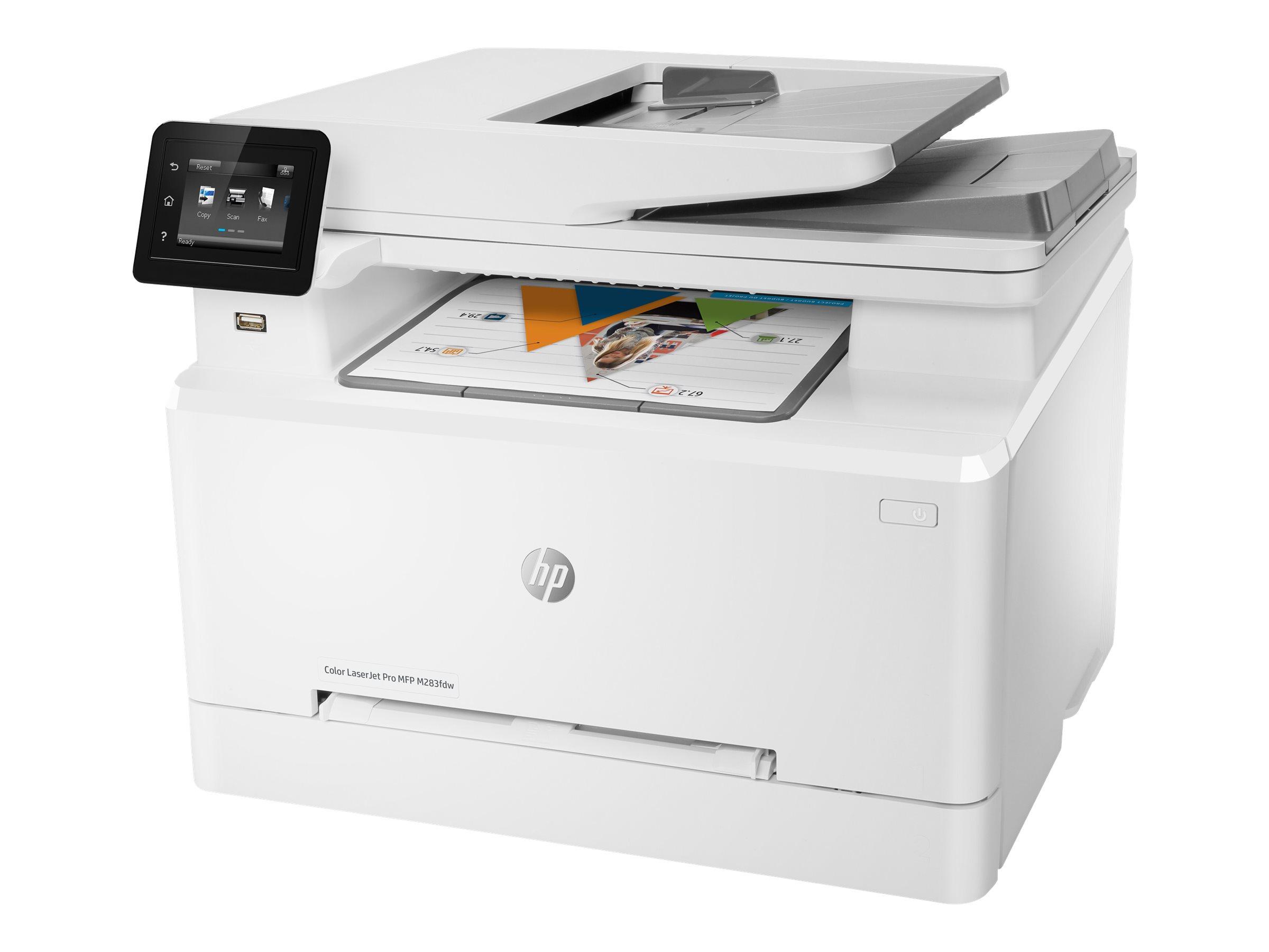 HP Color LaserJet Pro MFP M283fdw - Multifunktionsdrucker - Farbe - Laser - Legal (216 x 356 mm)