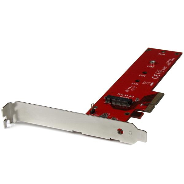 StarTech.com x4 PCI Express to M.2 PCIe SSD Adapter Card - for M.2 NGFF SSD - Schnittstellenadapter