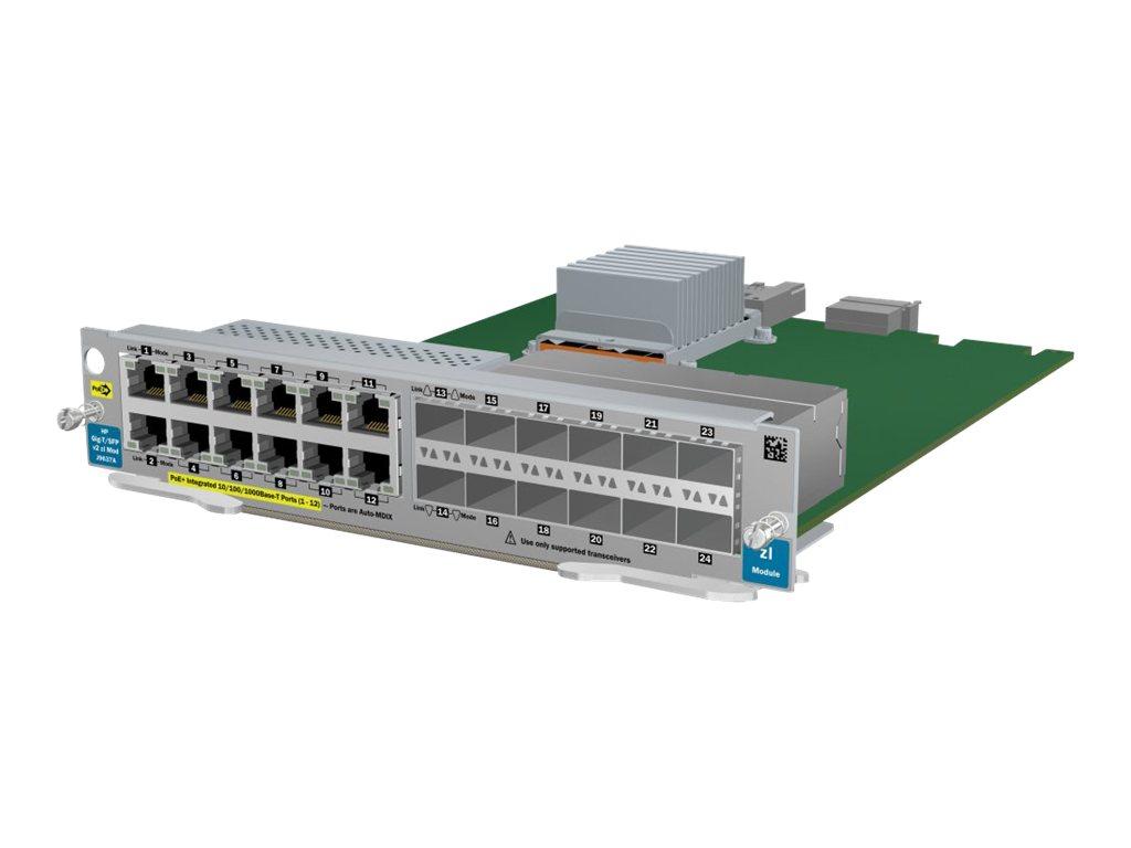 HP 12p Gig-T PoE+/12p SFP v2 zl Module (J9637A)