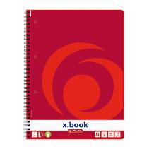 Herlitz 306456 - Bürokleinmaterial - 80 Blatt - Rot