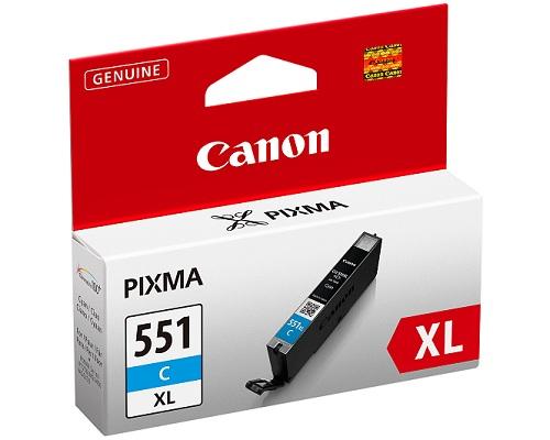 Canon CLI-551XL C Cyan Tintenpatrone