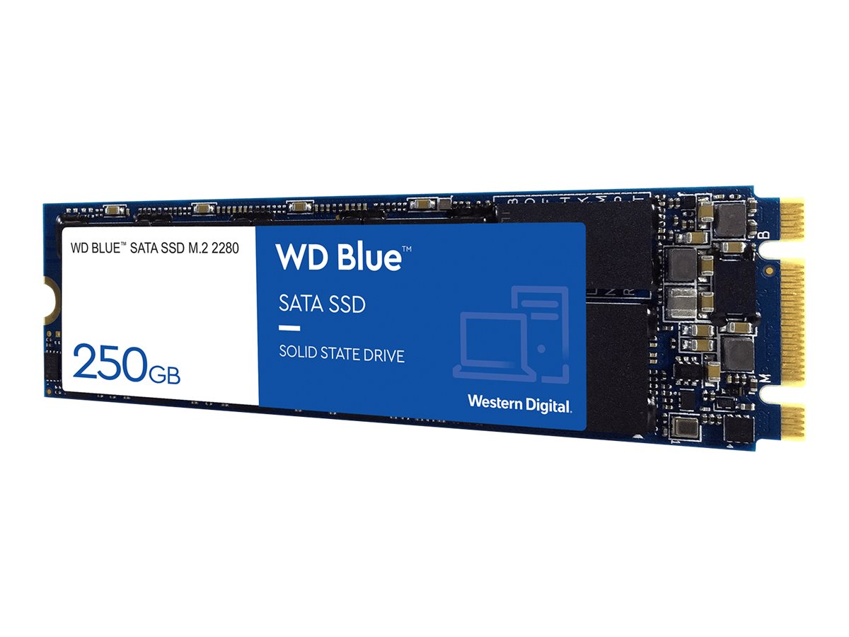 WD Blue 3D NAND SATA SSD WDS250G2B0B - Solid-State-Disk