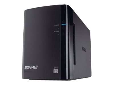 Buffalo DriveStation Duo USB 3.0 - Festplatten-Array - 4 TB - 2 Schächte (SATA-300)