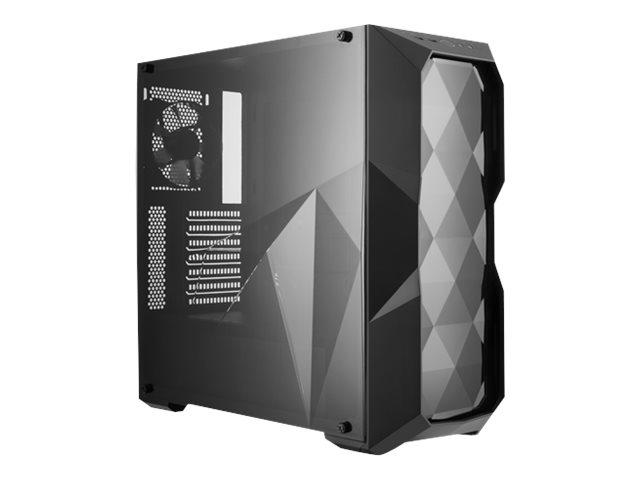 Cooler Master MasterBox TD500L - Midi Tower - ATX - ohne Netzteil (ATX) Schwarz - Acrylfenster - USB/Audio