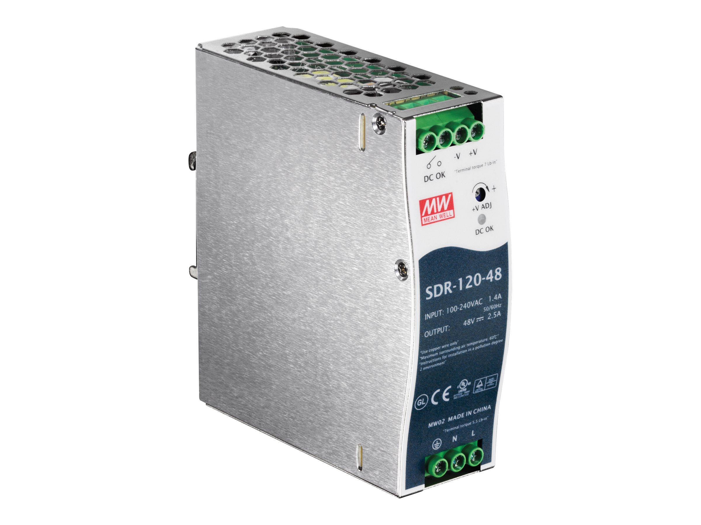 TRENDnet TI-S12048 - Stromversorgung (DIN-Schienenmontage m?glich)