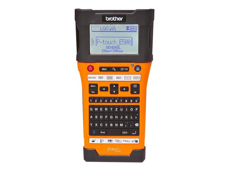 Vorschau: Brother P-Touch PT-E500VP - Beschriftungsgerät